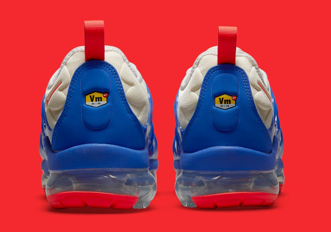 Nike VaporMax Plus Blue Crimson DM8317-100 | SneakerNews.com