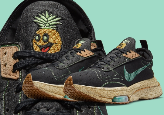 The Happy Pineapple Appears Once More On The Nike Zoom Type Premium