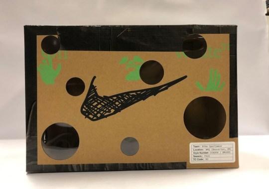 "Virgil Abloh Reveals Shoebox For Nike Dunk ""Dear Summer"" Collection"