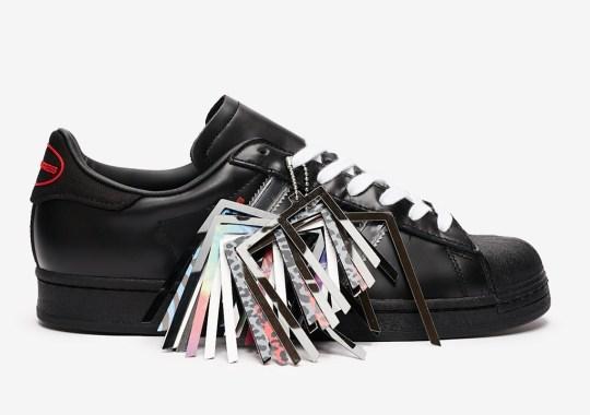 Pleasures Brings Its Punk Look To The adidas Superstar