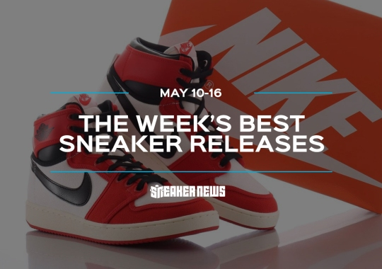 "The AJ1 KO ""Chicago"" And Stingwater x Nike SB Dunk Low Lead This Week's Best Releases"