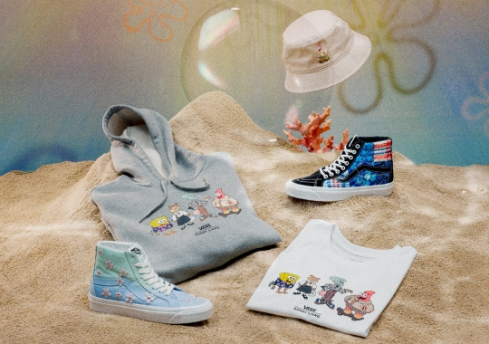 Sandy Liang And Vans Celebrate Bikini Bottom's Colorful Cast And Scenery
