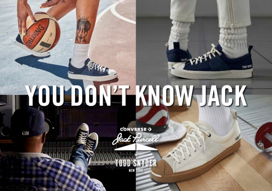Todd Snyder's First-Ever Converse Collaboration Shines Spotlight On The Jack Purcell