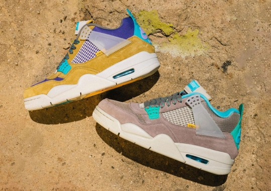 """How To Buy The Union x Air Jordan 4 """"Desert Moss"""" And """"Taupe Haze"""""""