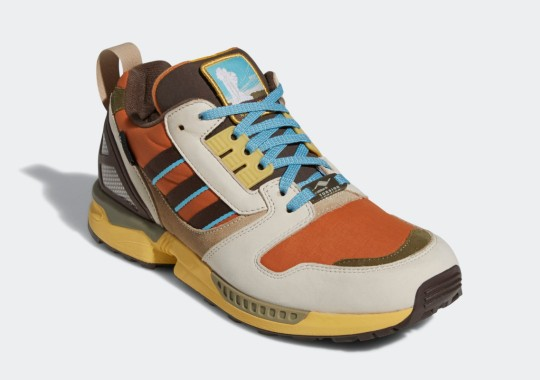 Yellowstone Joins The National Parks Foundation x adidas ZX 8000 Capsule