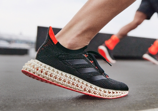 The adidas 4DFWD Introduces New 3D-Printed Cushioning Designed To Move Runners Forward