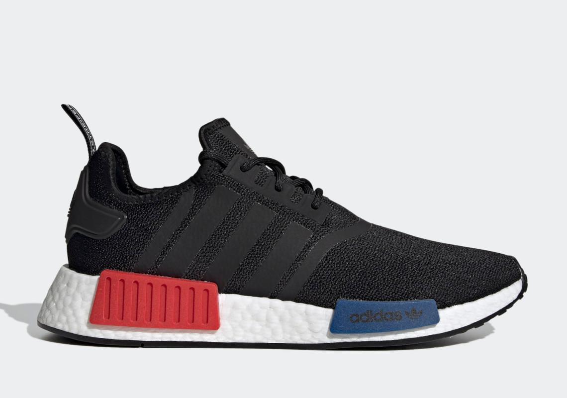 adidas NMD R1 OG Black Red Blue GZ7922 | SneakerNews.com