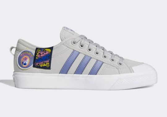 Groovy Patches Spice Up The adidas Nizza