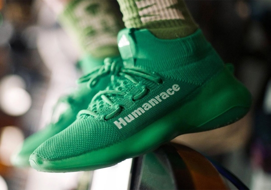 Pharrell Reveals A Friends & Family Colorway Of Upcoming adidas Humanrace Sichona