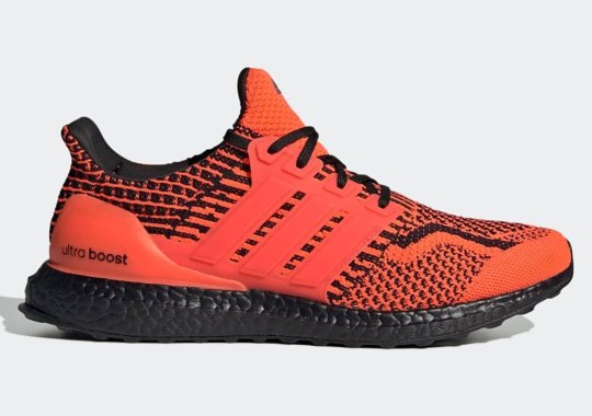 """The adidas UltraBOOST DNA 5.0 Gets A Vivid """"Solar Red"""" Update"""
