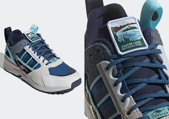 """National Parks Foundation And adidas Link Up For ZX 10.000C GORE-TEX """"Crater Lake"""""""