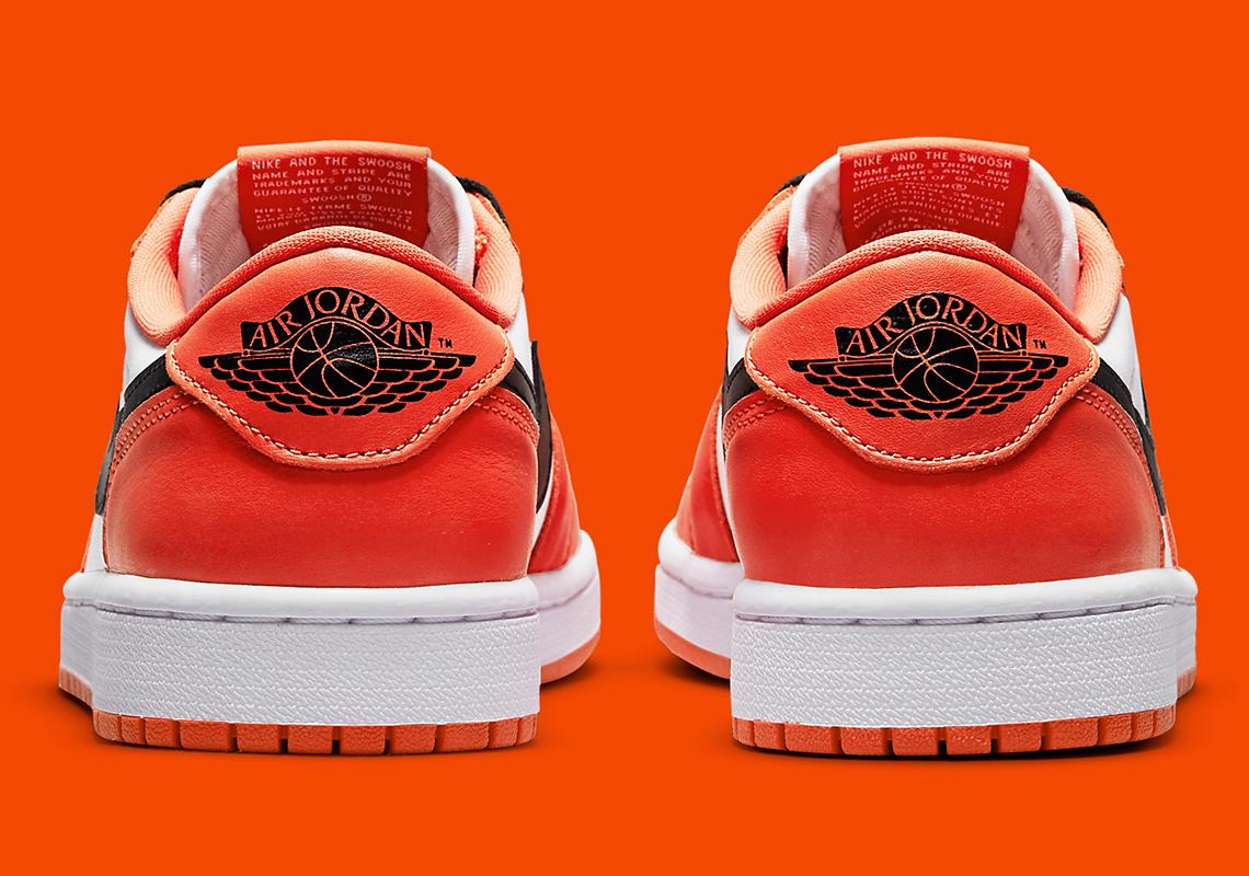 Air Jordan 1 Low OG Starfish CZ0790-801 Release   SneakerNews.com