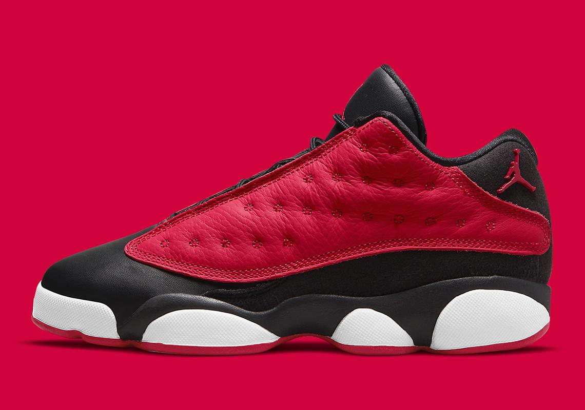 Air Jordan 13 Low GS Black Very Berry DA8019-061 | SneakerNews.com