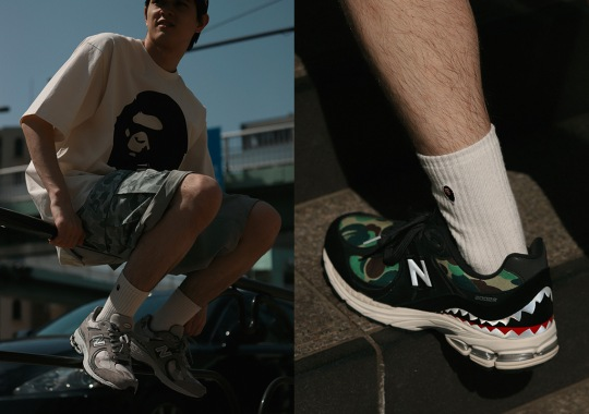 A Bathing Ape And New Balance Unveil Full Collection Ahead Of June 5th Launch