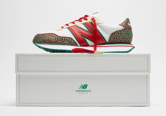 Casablanca's Seasonal Monogram Lands On The New Balance 237