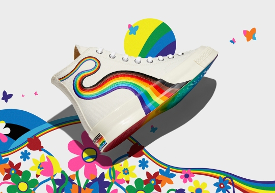 Converse's Sixth Pride Collection, Headlined By The Chuck 70, Highlights Key Creatives In The LGBTQIA+ Community