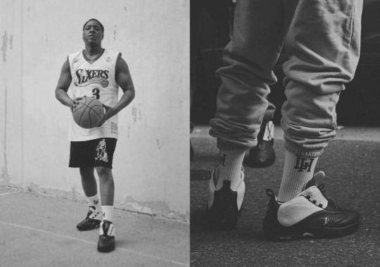 """Lapstone Taps Jadakiss For Exclusive Reebok Answer IV """"Step Over"""" Launch"""