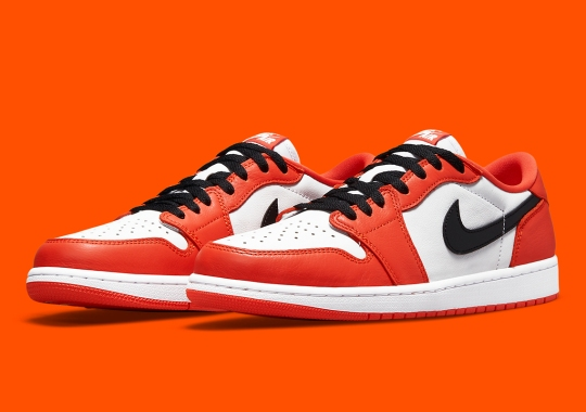 """Official Images Of The Air Jordan 1 Low OG """"Starfish"""""""