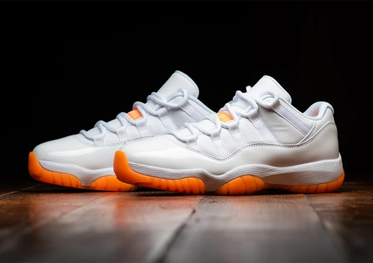 "The Air Jordan 11 Low ""Citrus"" Releases Tomorrow"