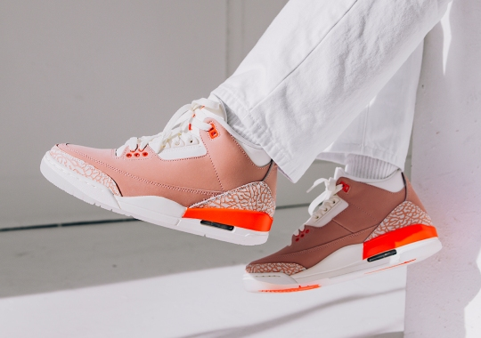 "The Air Jordan 3 ""Rust Pink"" Releases Tomorrow"