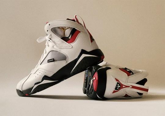 """The Air Jordan 7 """"PSG"""" Releases Tomorrow"""