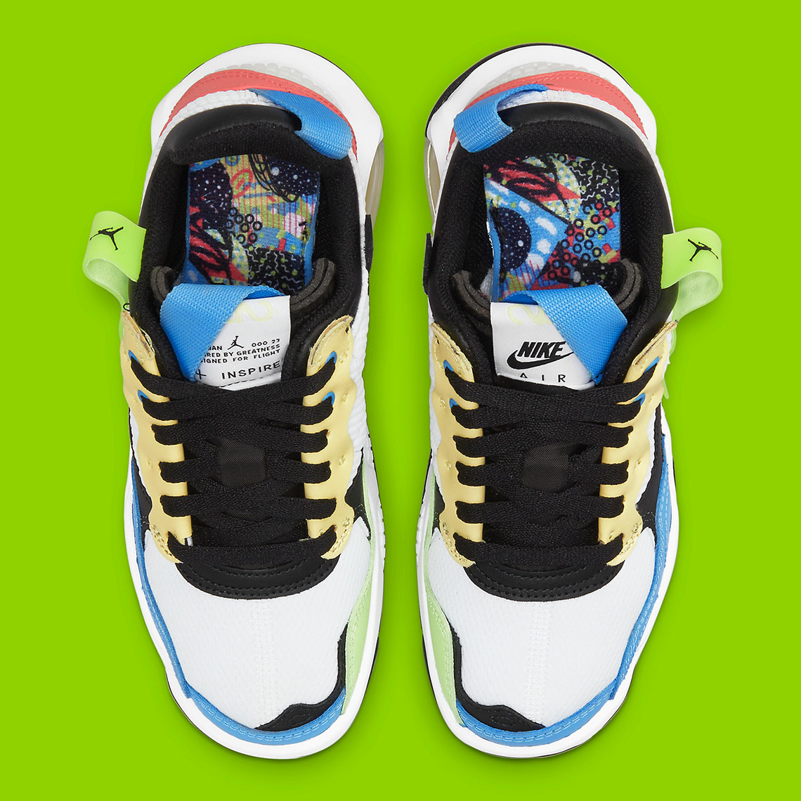 A Colorful Approach Lands On This Kids-Exclusive Jordan MA2