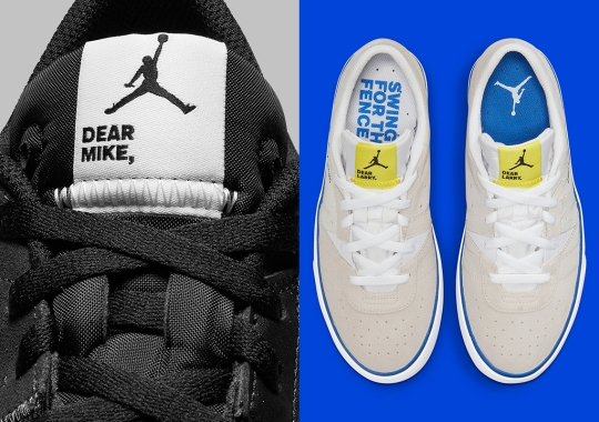 Jordan Brand To Launch The Series.01 Lifestyle Shoe Inspired By The GOAT's Baseball Journey