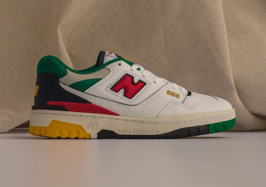 """Where To Buy The New Balance 550 """"Multi-Color"""""""