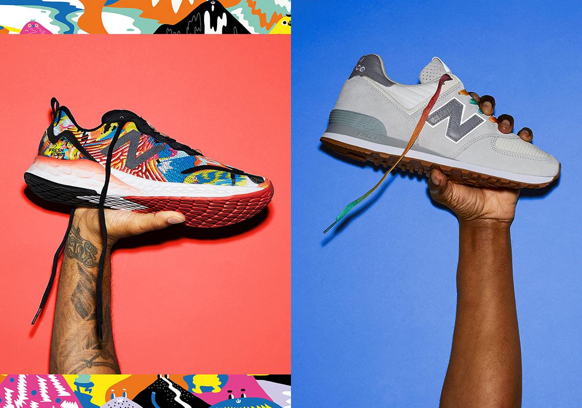 New Balance 574 Everybody's Welcome Pride 2021 | SneakerNews.com