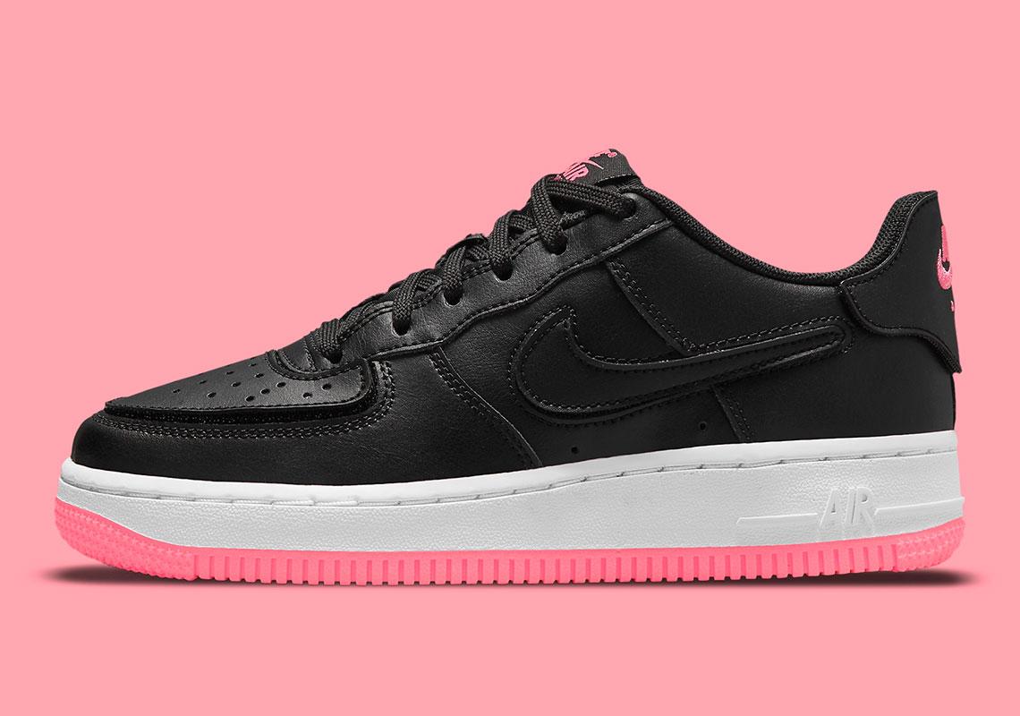 Nike Air Force 1/1 GS Black Hyper Pink DB4545-005 | SneakerNews.com