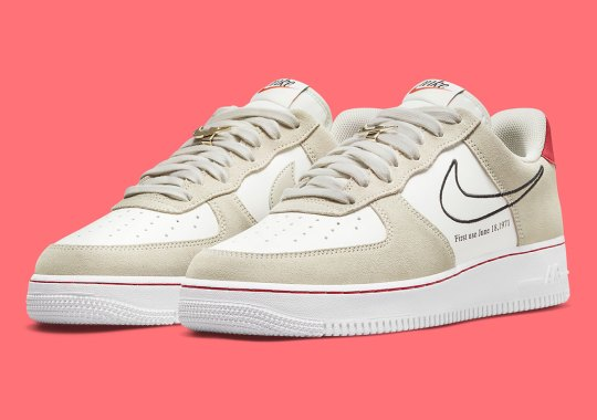 """The Nike Air Force 1 Low """"First Use"""" Gets A Light Stone Treatment"""