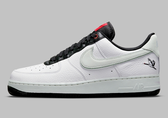 The Milky Stork Featured On This Nike Air Force 1 Low