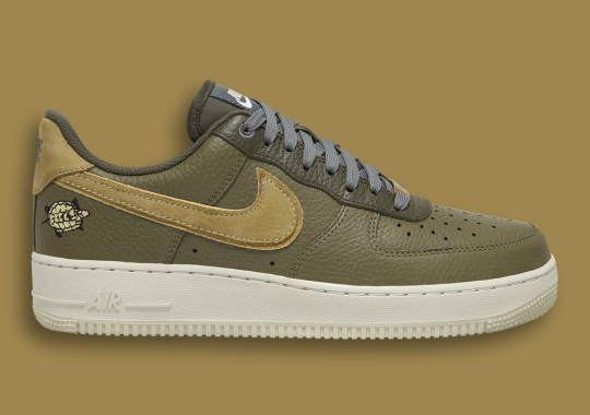 Tiny Tortoises Take Over This Nike Air Force 1 Low