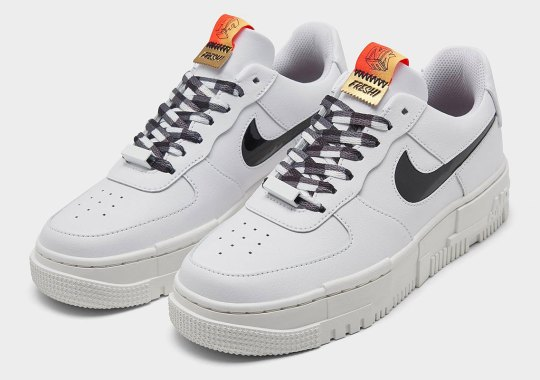 """The Nike Air Force 1 Pixel """"FRESH!"""" Arrives On May 18th"""
