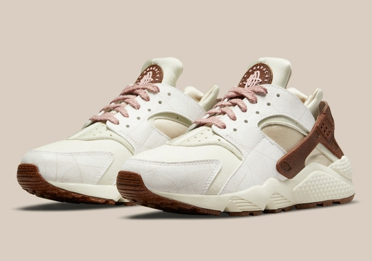 "The Nike Air Huarache ""Rattan"" For Women Lengthens The Plant-Based Series Of Footwear"
