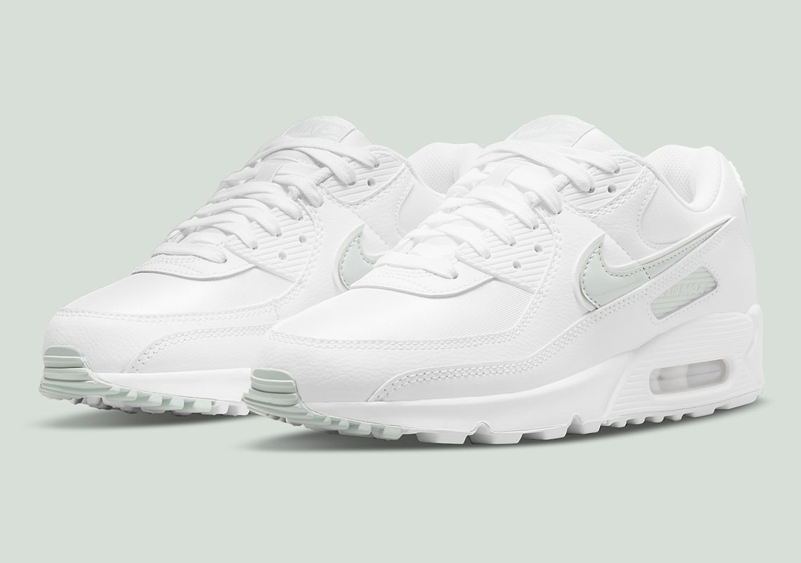 brown leather nike air force ones 90 White/Pistachio Frost DH5720 ...