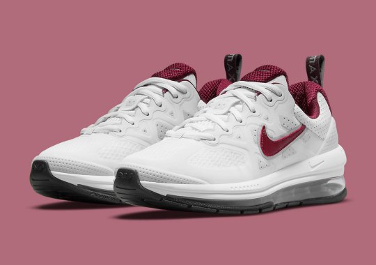 The Nike Air Max Genome Keeps Things Clean With Team Red Swoosh Logos