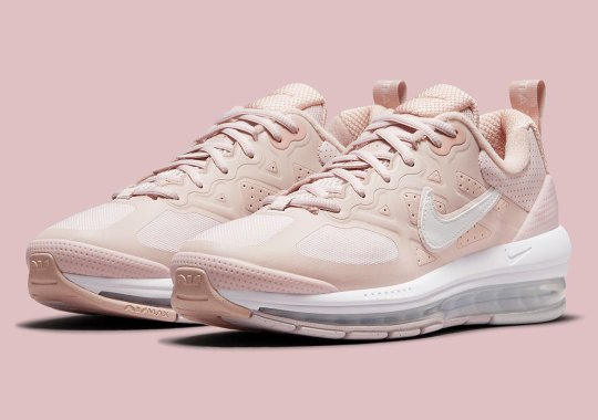 """The Women's Nike Air Max Genome Appears In """"Barely Rose"""""""