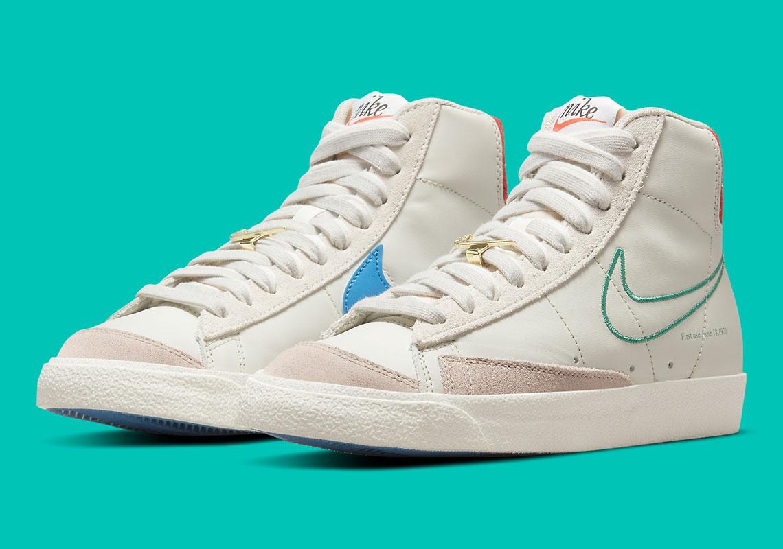 Nike Blazer Mid '77 First Use Light Bone DH6757-001 | SneakerNews.com