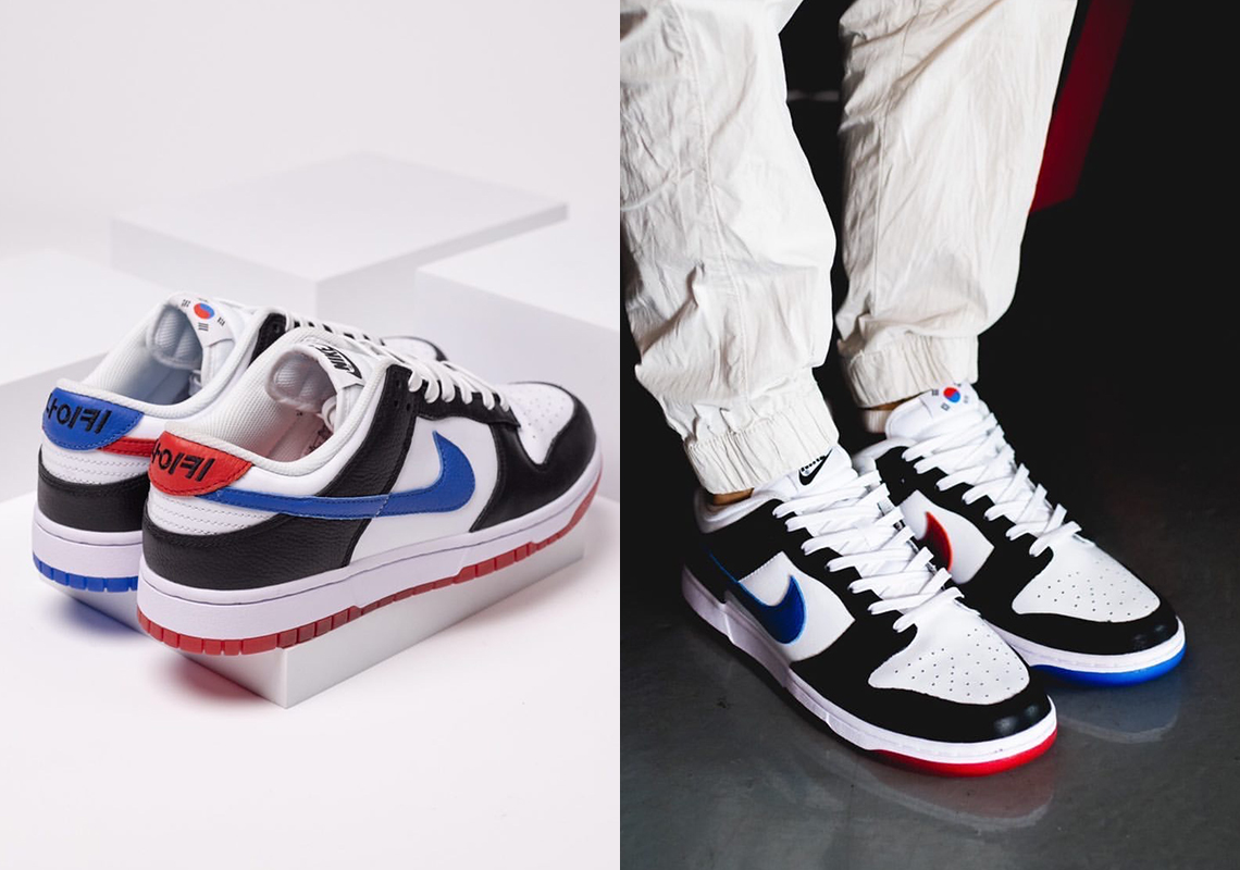 First-Look: Nike Dunk Low 'South Korea'