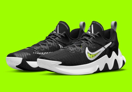 The Nike Giannis Immortality Set To Release In An Essential Black And Volt