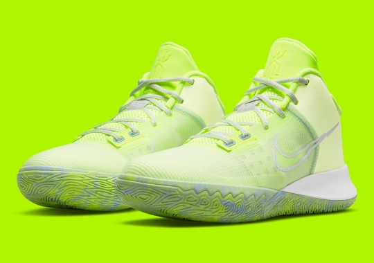 Punchy Volt Uppers Appear On The Nike Kyrie Flytrap 4