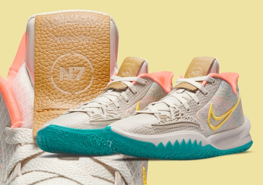 The Nike Kyrie Low 4 To Be Featured In The 2021 N7 Collection