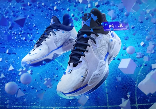 The Sony PlayStation x Nike PG 5 Will Launch On June 17th