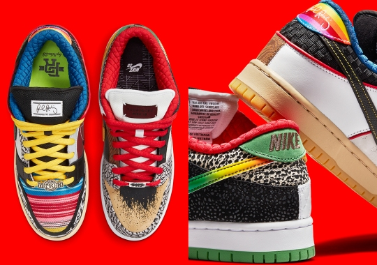 "Official Images Of The Nike SB Dunk Low ""What The P-Rod"""