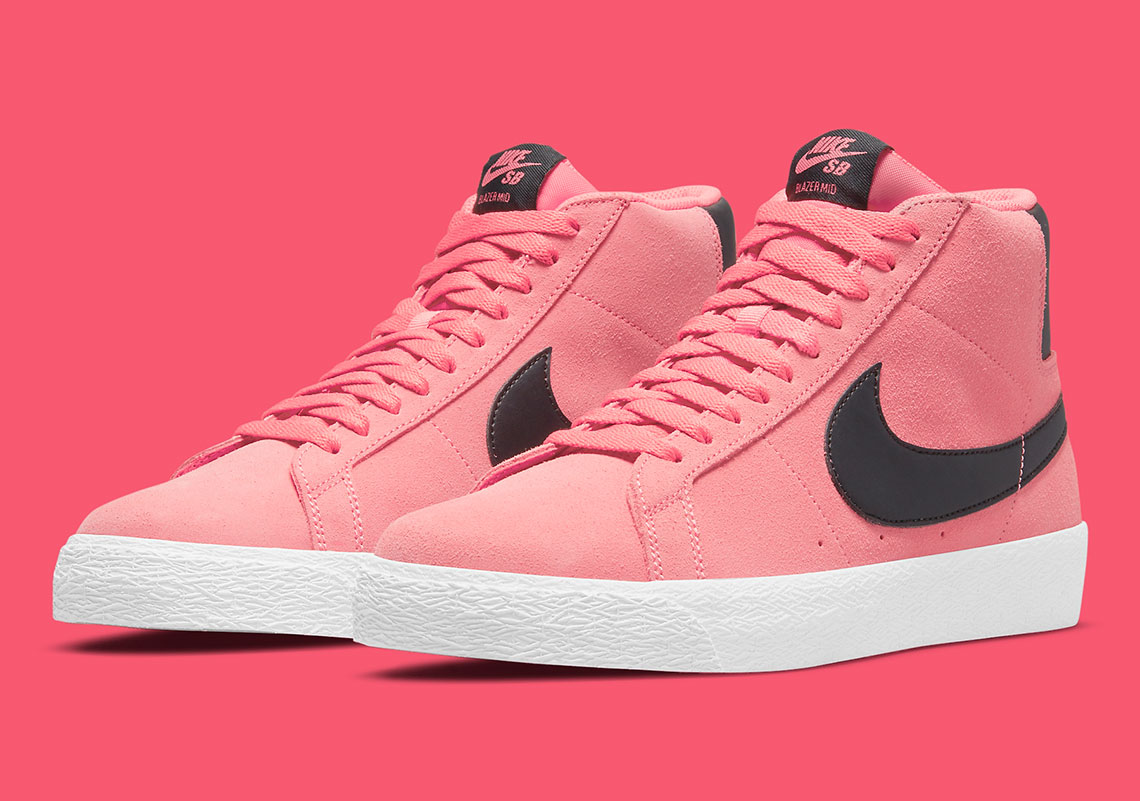 Nike SB Zoom Blazer Mid Pink 864349-601 | SneakerNews.com