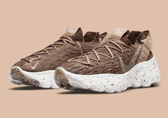 The Women's Nike Space Hippie 04 Gets A Brown Makeover