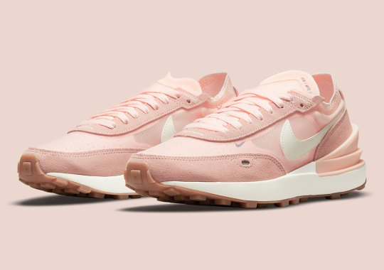 This Nike Waffle One Indulges In Pale Coral