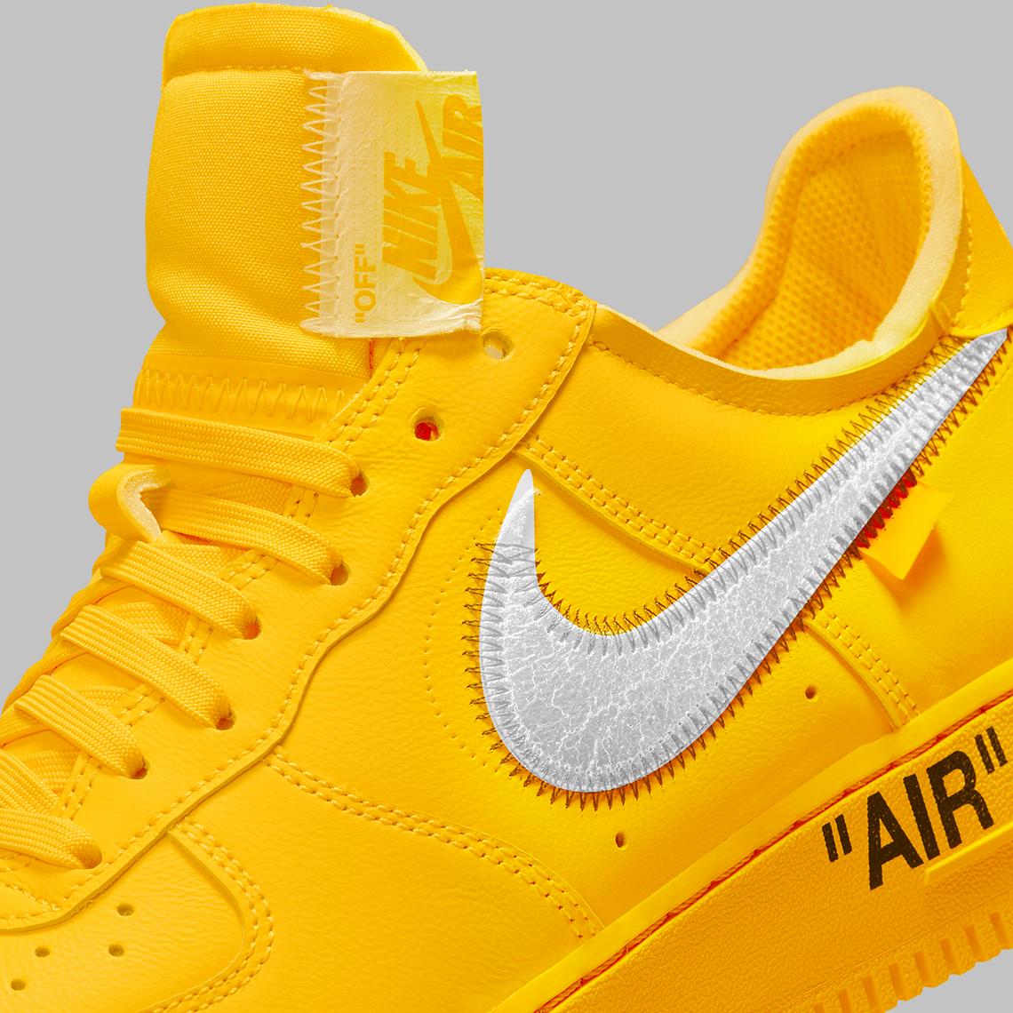 Off-White Nike Air Force 1 Yellow Lemonades Raffle   SneakerNews.com