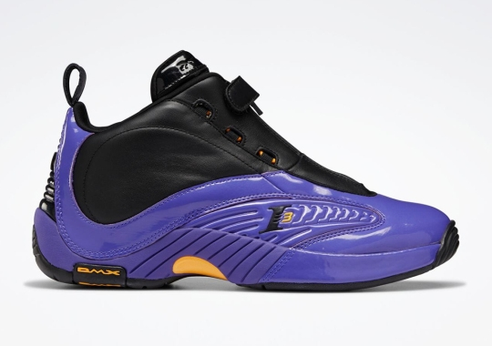 """Reebok To Release A Lakers-Themed Answer IV In Savage Remembrance Of The """"Step Over"""""""